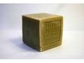 Cube de Savon de Marseille brut Olive 400g